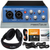 PreSonus AudioBox 96 USB 2.0 Audio Recording Interface and Accessory Bundle w/ Stereo Headphones + Xpix Cable + Dual MIDI Cable + Fibertiqe
