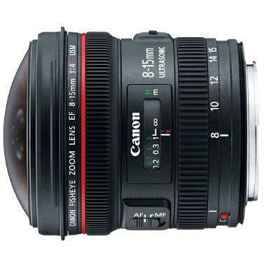 Canon EF 8-15mm f/4L Fisheye USM Ultra-Wide Zoom Lens for Canon EOS SLR Cameras - Thephotosavings