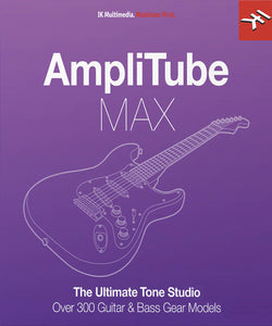 Amplitube Max edition Includes all Custom Shop Models