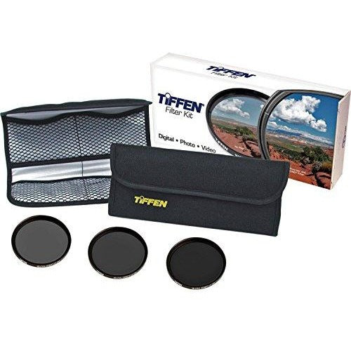Tiffen 77mm Digital Neutral Density Filter Kit (ND 0.6, 0.9, 1.2 + Wallet) - Thephotosavings