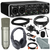 Behringer U-PHORIA UMC204HD USB 2.0 Audio/MIDI Interface and Platinum Bundle w/ Marantz Pro MPM-1000 Condenser Mic + Headphones + Cables + Fibertique