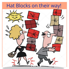 Highland Hat Blocks Delivery