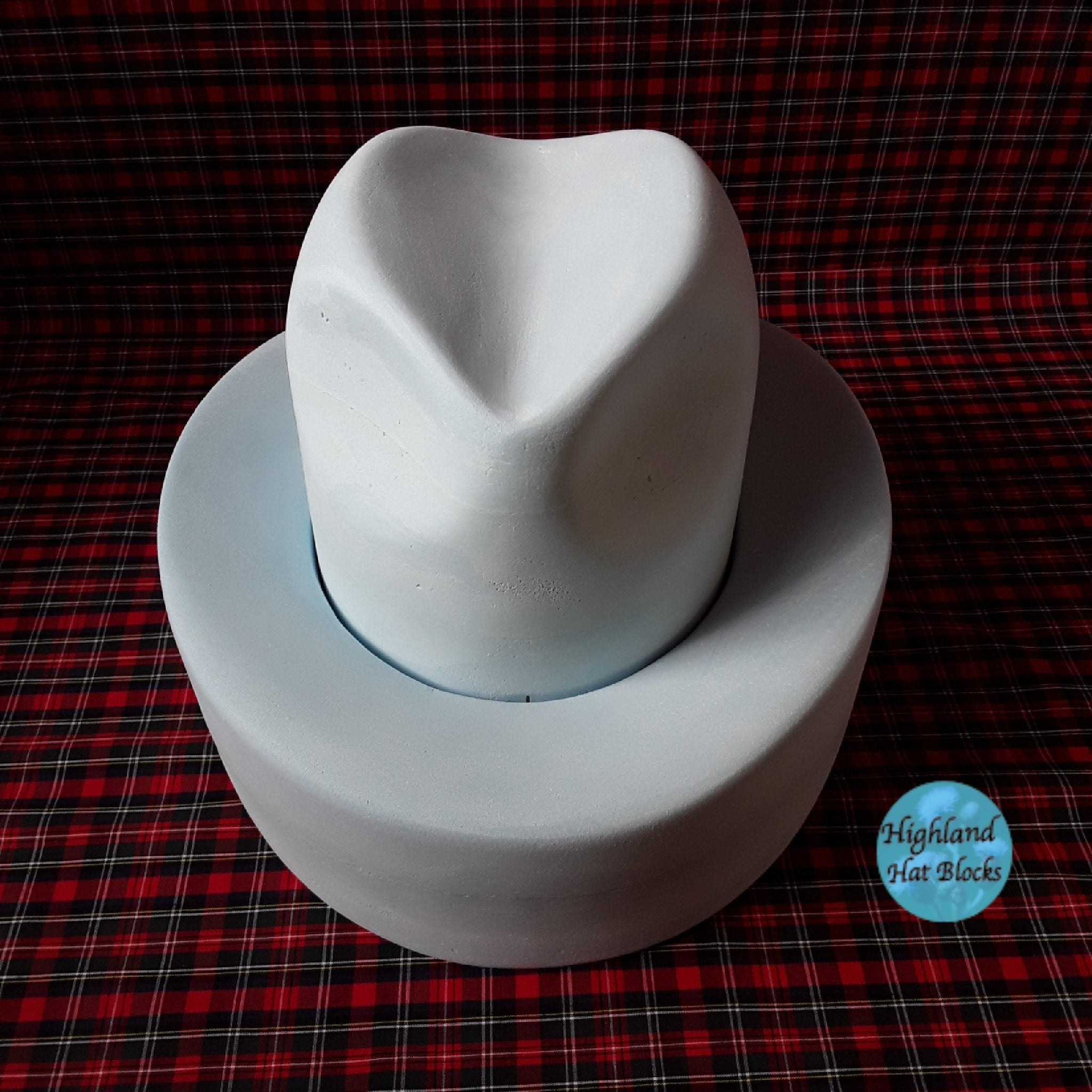HHS445 Fedora / Trilby Double Brim c/w Crown Set