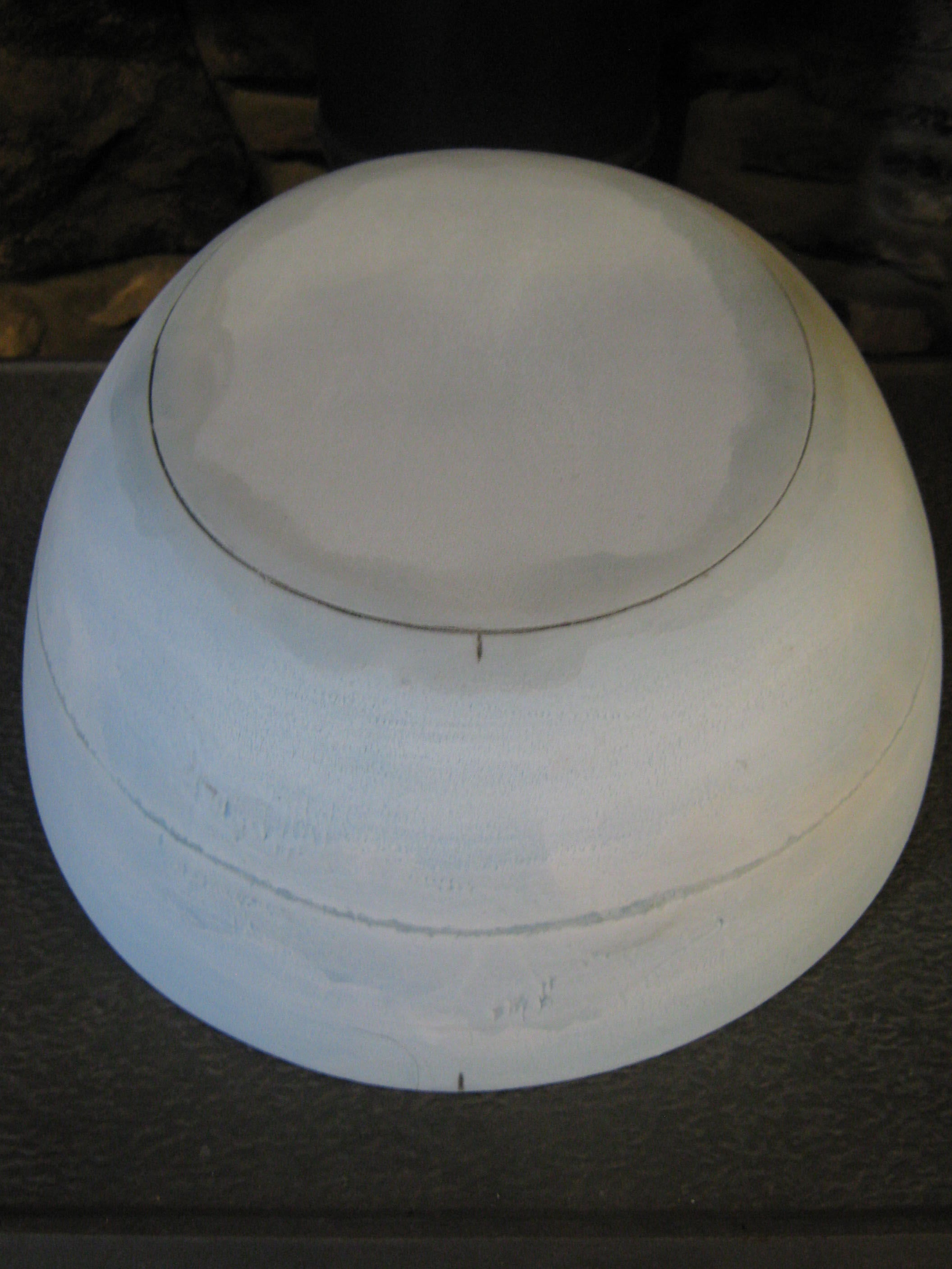 "HHB146 Downturned Brim Block 12"" dia"