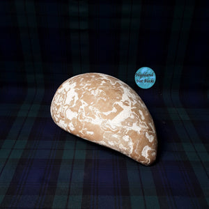 "EHB130 Eco Teardrop Fascinator Block approx 8"" x 6"""