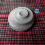 "Load image into Gallery viewer, HHB275 Small Hat with Intricate Swirl 9"" dia"