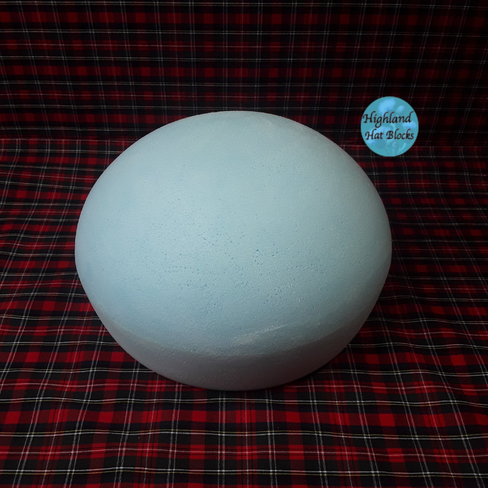 HHS454 Rounded Beret Block approx Dia 7""