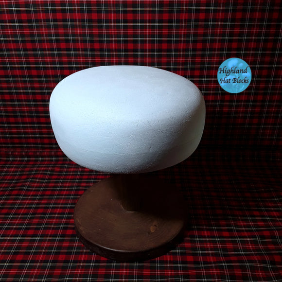 HHS412 Beret Hat Block approx 7