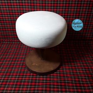 HHS412 Beret Hat Block approx 7""