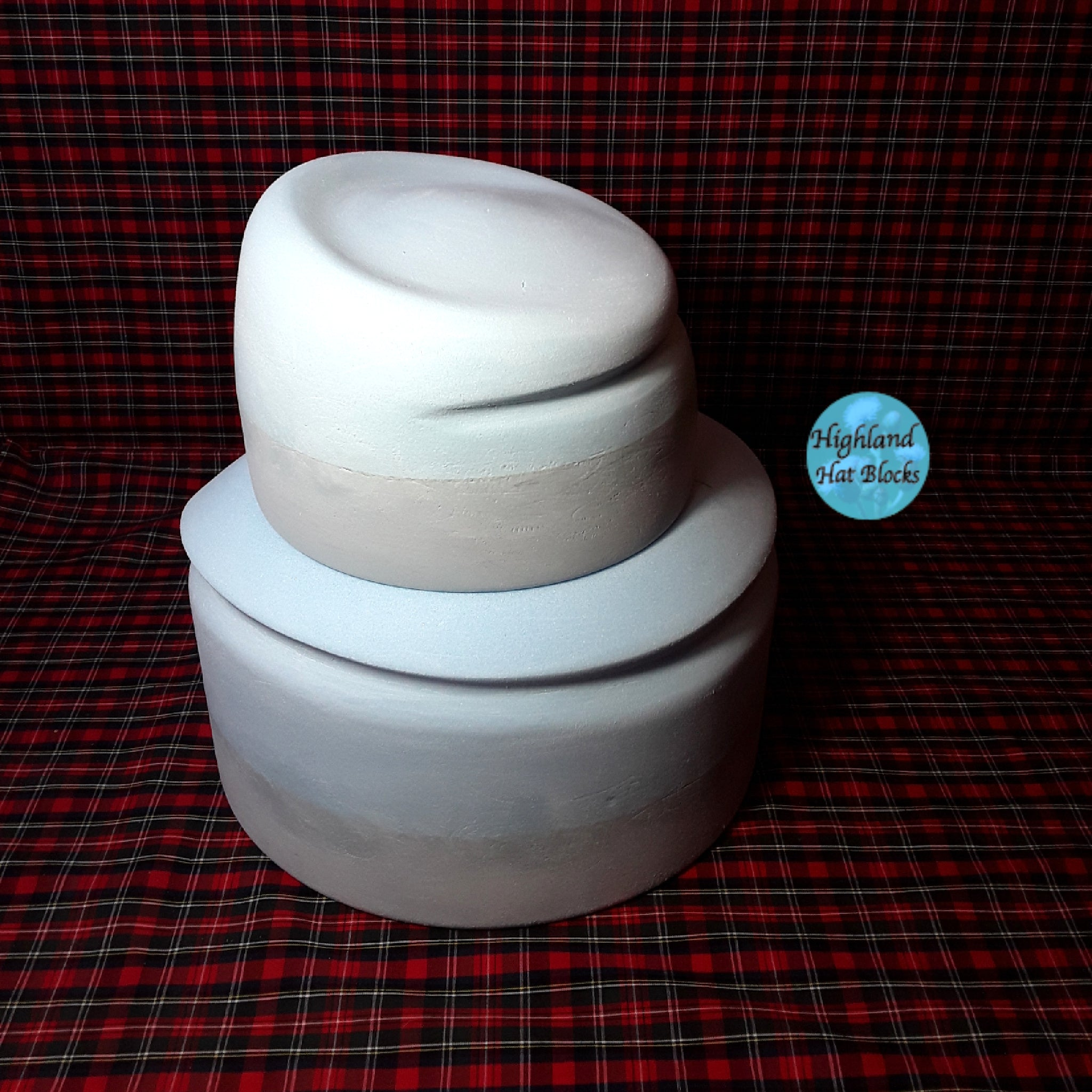 HHS488 Sculptured Two Piece Hat Block Set