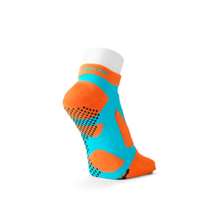 5 Toe Spider Arch Compression Short Socks with Non-Slip Dots