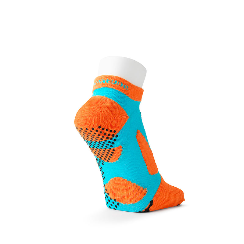 5 Toe Short Socks with Non-Slip Dots