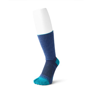 2 Toe Outdoor Dual Arch Support Crew Socks