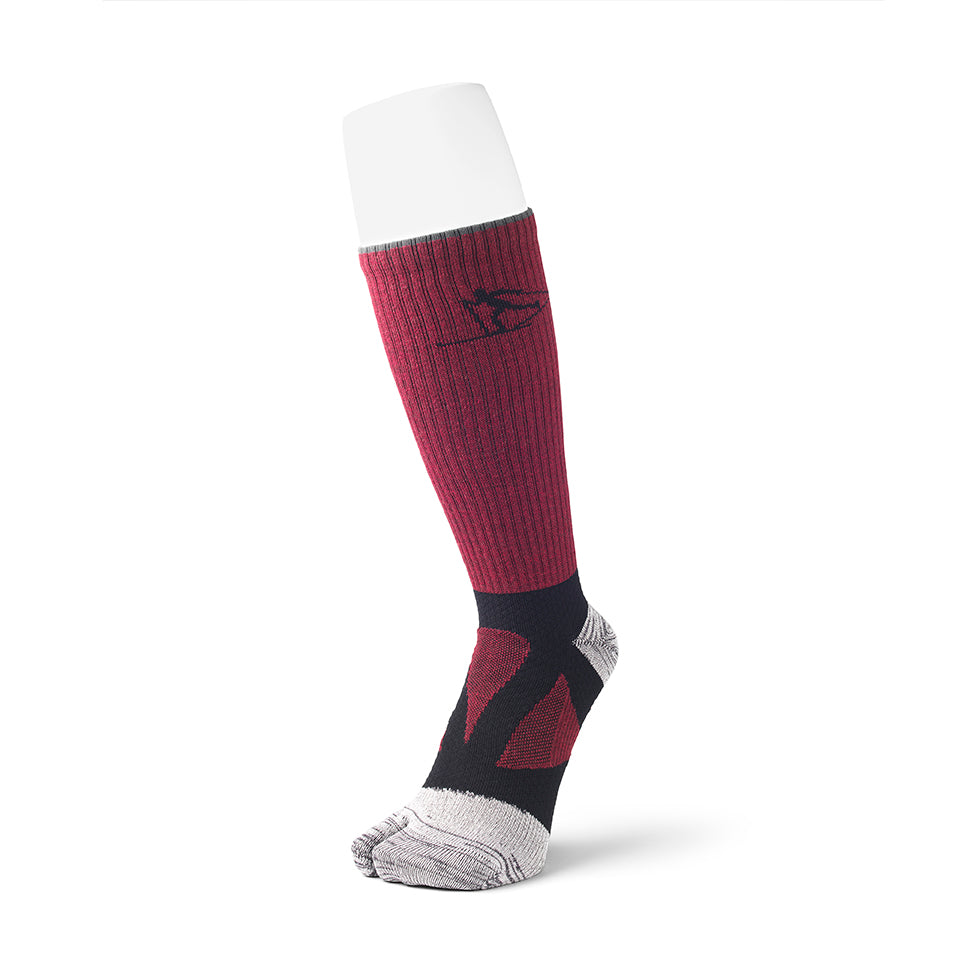 2 Toe Spider Arch Cross Country Ski Long Socks