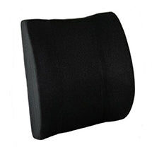 Seatback Lumbar Cushion with Strap