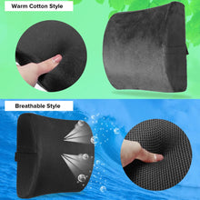 Load image into Gallery viewer, Memory Foam Gel Lumbar Cushion - GOAEO