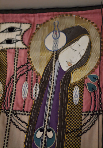 Margaret Macdonald Mackintosh Tapestry from Hill House