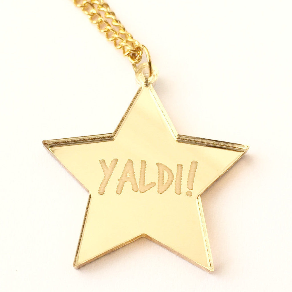 Yaldi Gold Star Necklace