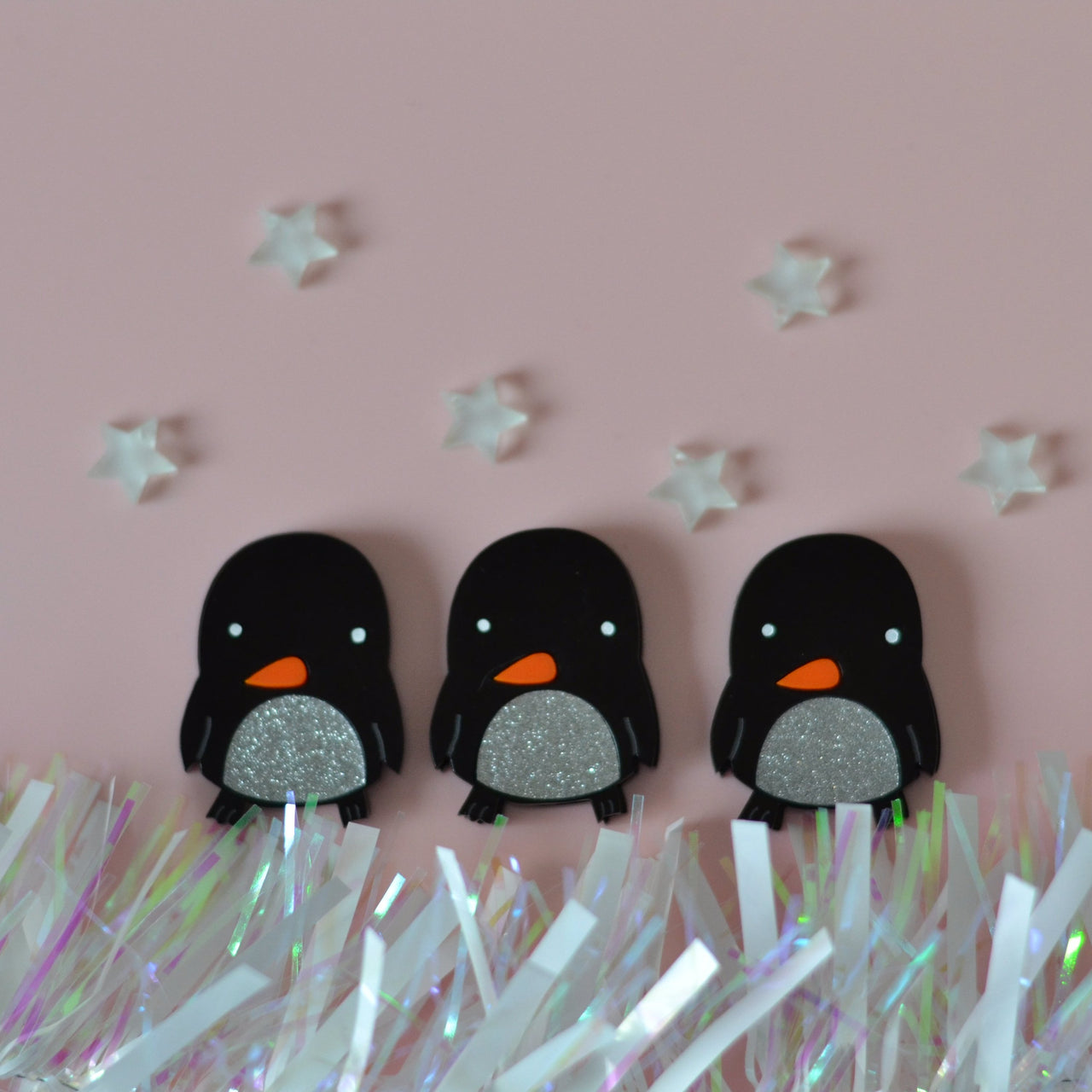 Penguin Brooch - designed by Neil Slorance