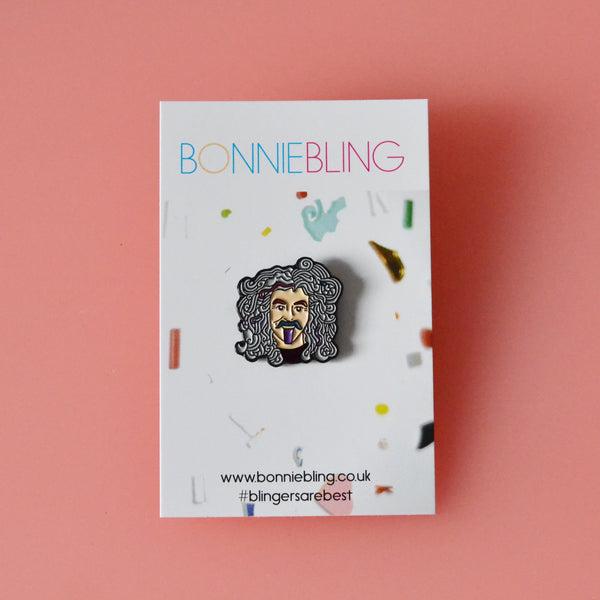 Billy Connolly Enamel Pin Badge - Raising funds for Parkinsons UK