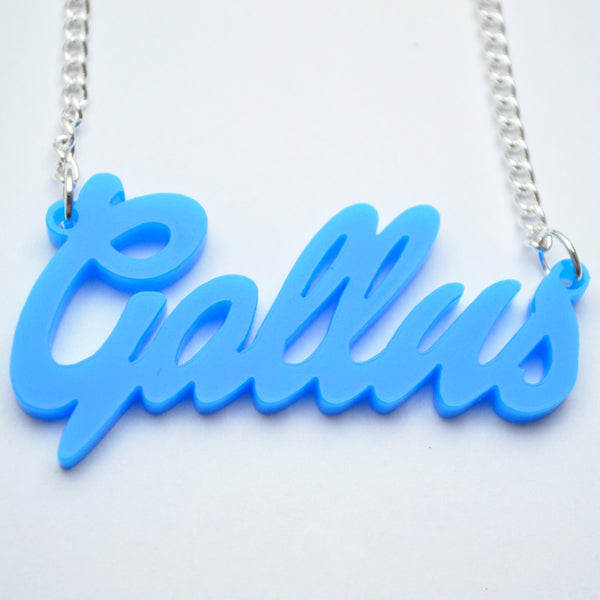 Gallus Necklace Acrylic