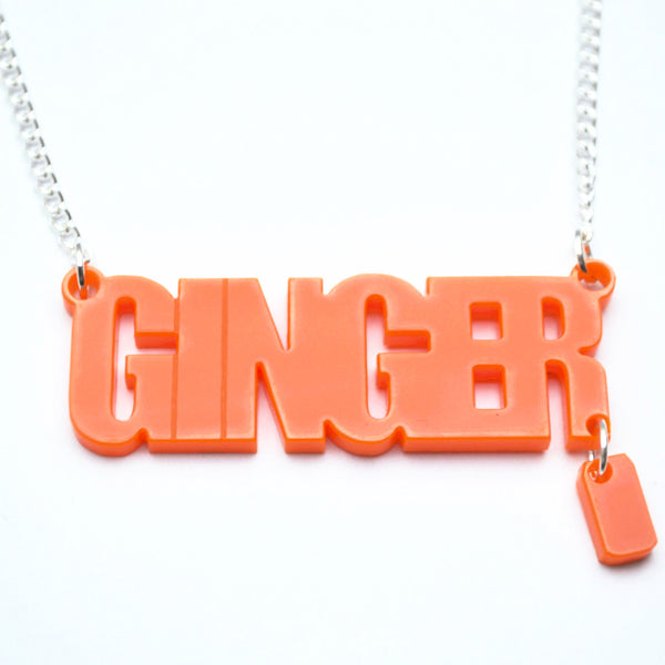 Scottish Ginger Necklace