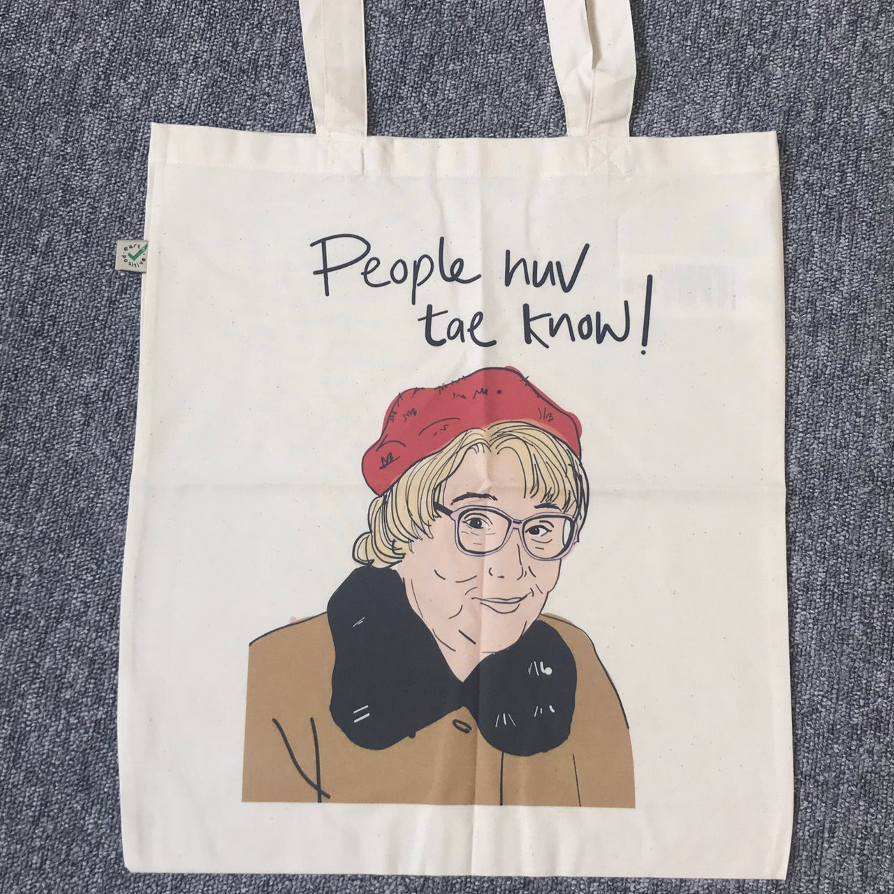Isa Still Game 'People Huv Tae Know' Tote Bag