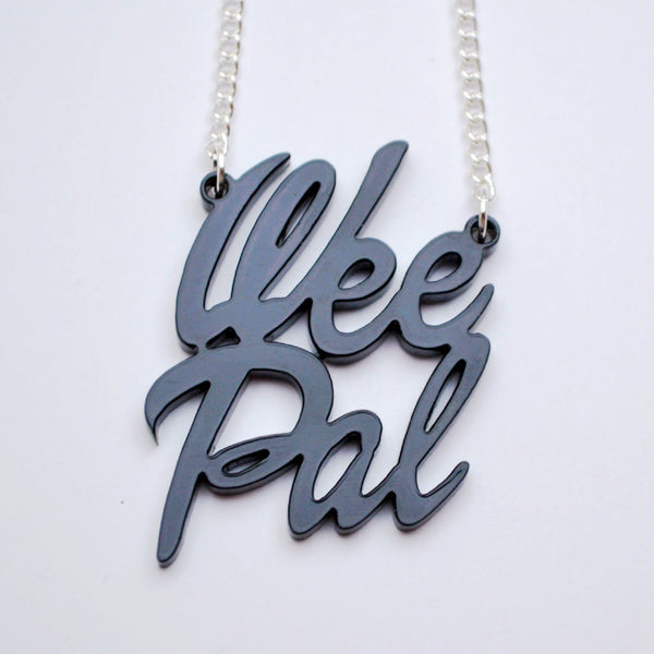 Wee Pal Acrylic Necklace