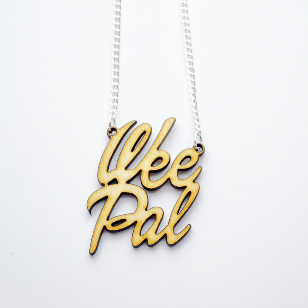 Wee Pal Wooden Necklace