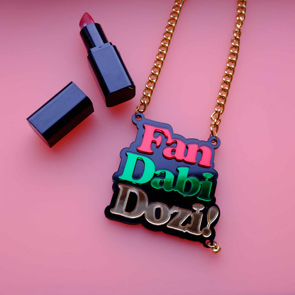 Limited Edition Fan Dabi Dozi Statement Necklace