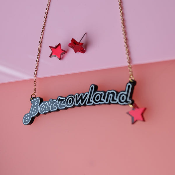 Barrowland Solo Necklace and Earring Set - 4 Colours Available!