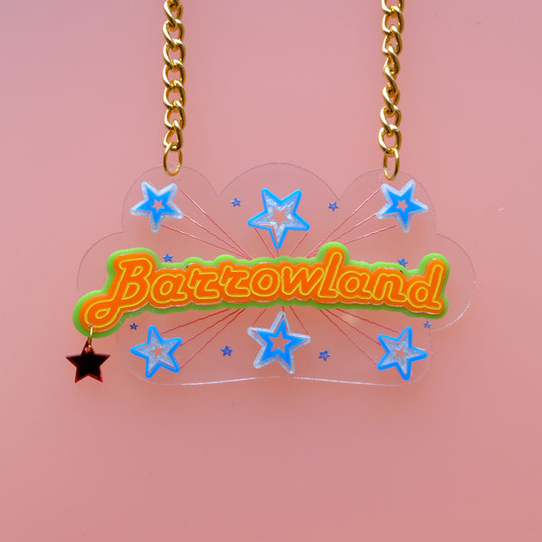 Barrowland Neon Lights Statement Necklace
