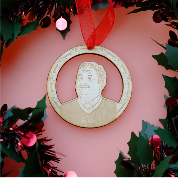 Still Game Jack Wooden Christmas Decoration