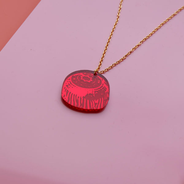 Tunnocks Teacake Biscuit Necklace