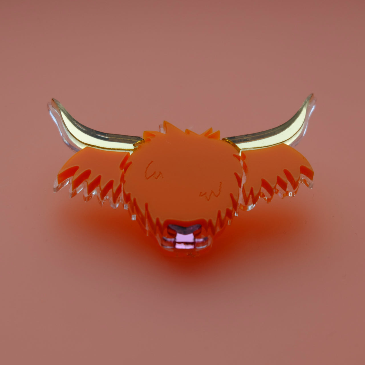 Wee Cow - Highland Cow Brooch