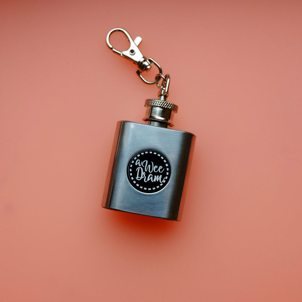 A Wee Dram Mini Pocket Hipflask- BACK IN STOCK!