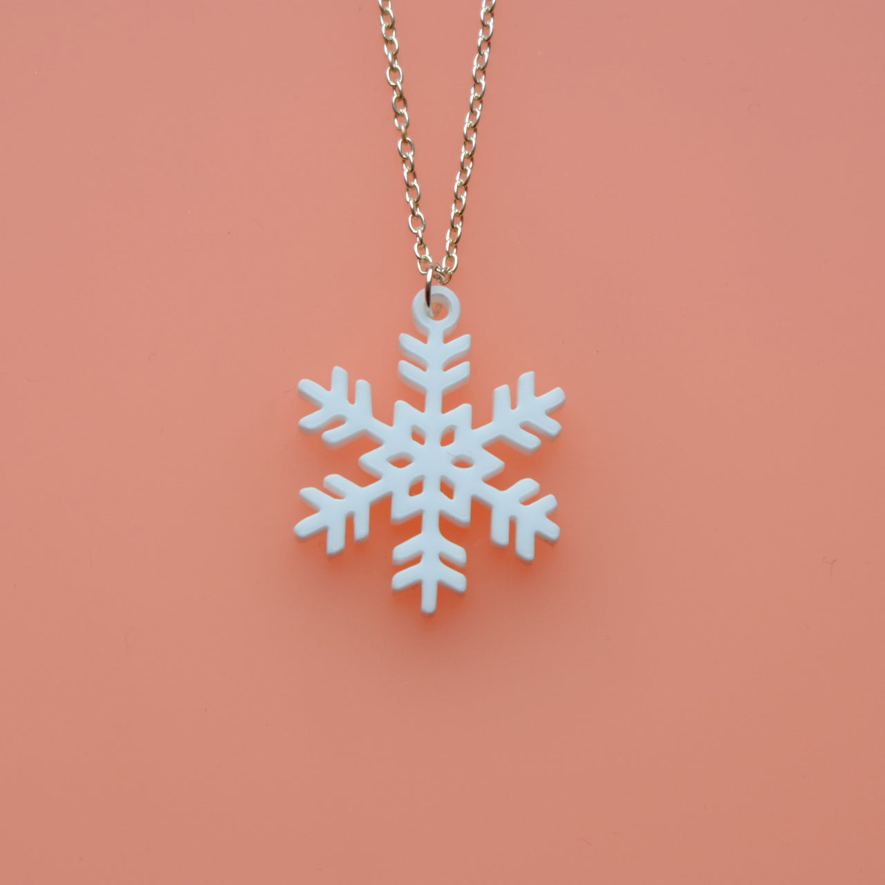 Wee Snowflake Necklace