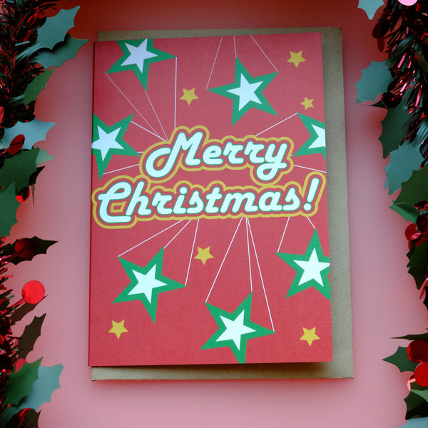 Bonnie Bling Barrowland Christmas Card