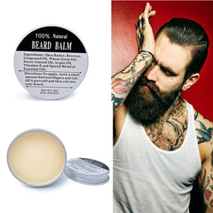 All natural beard balm to time your beard