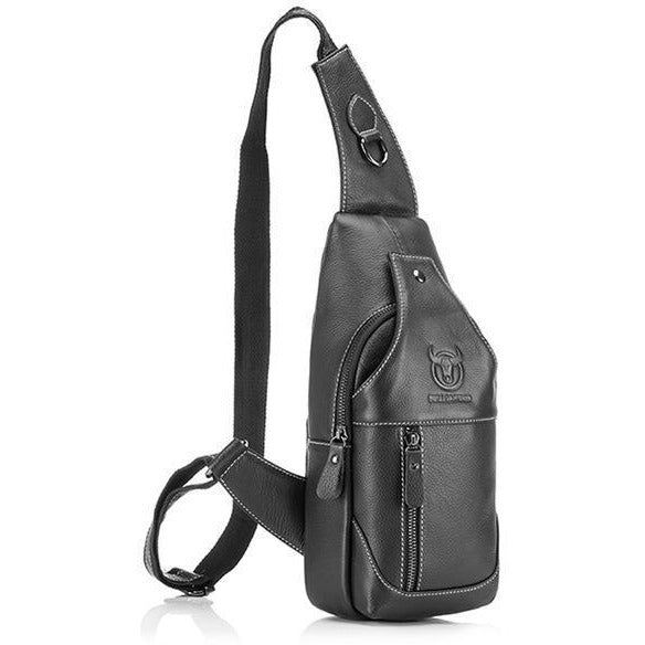 NL Genuine Leather Shoulder Bag – 820 - Novel Luxury - A men's accessory company