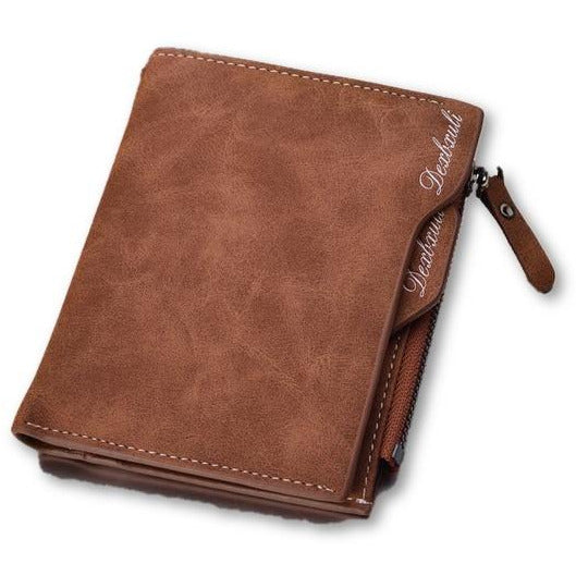Soft Leather Pocket Wallet - Novel Luxury - A men's accessory company