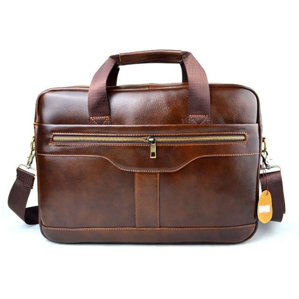 NL Genuine Leather Messenger Bag – 921 - Novel Luxury - A men's accessory company