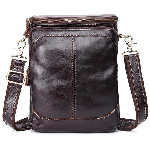 NL Genuine Leather Messenger Bag – 922 - Novel Luxury - A men's accessory company