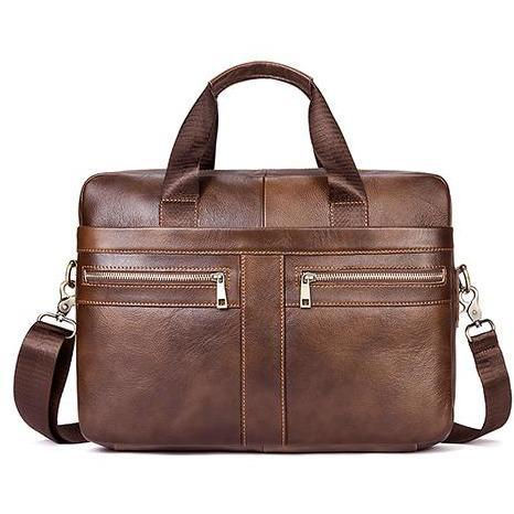NL Genuine Leather Messenger Bag – 920 - Novel Luxury - A men's accessory company
