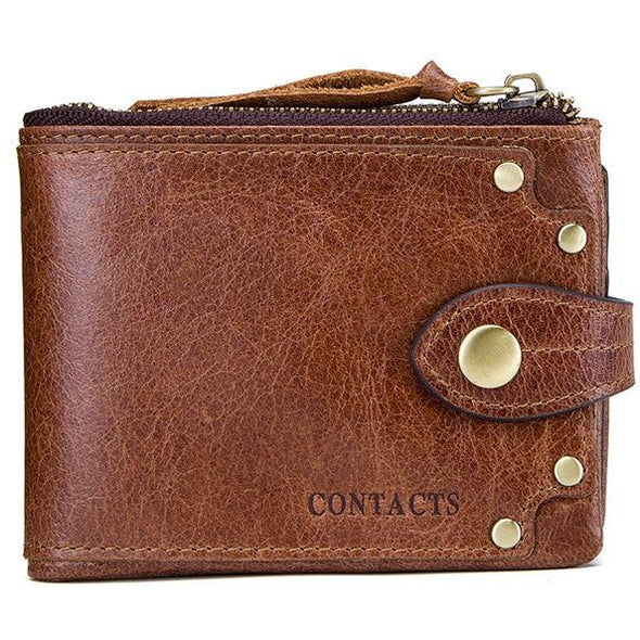 Cowhide Premium Leather Wallet - Novel Luxury - A men's accessory company