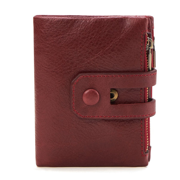 Stylish Genuine Leather  Rfid  Men Wallet - Novel Luxury - A men's accessory company