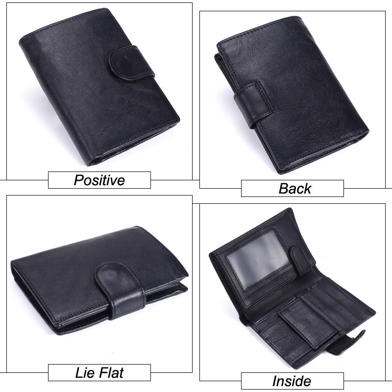 Men's Leather Wallet - Novel Luxury - A men's accessory company