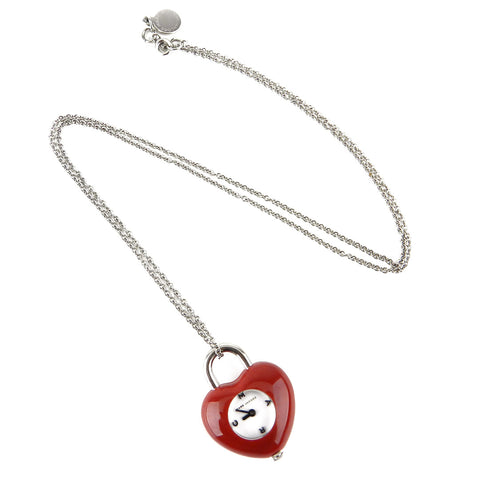 MARC BY MARC JACOBS Heart Watch Necklace