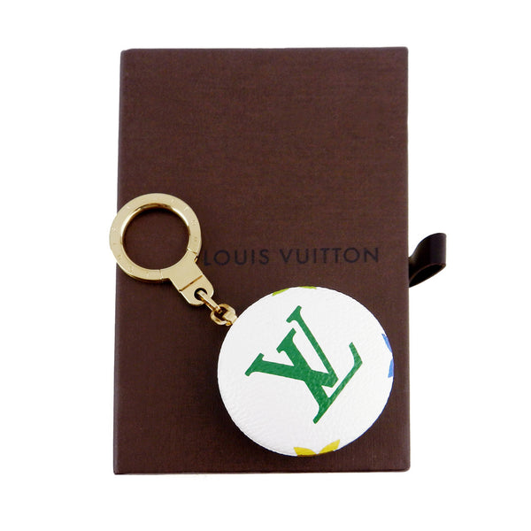 Louis Vuitton Monogram White Multicolore Astropill Key Charm