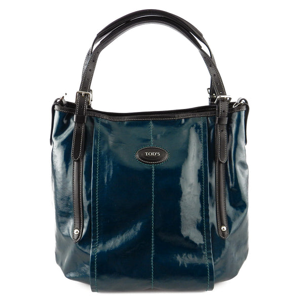 Tod's Sacca Piccolo Coated Canvas Tote
